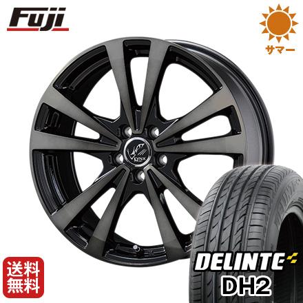 タイヤはフジ 送料無料 KOSEI コーセイ プラウザー リンクスBC 6.5J 6.50-16 DELINTE デリンテ DH2(限定) 195/55R16 16インチ サマータイヤ ホイール4本セット