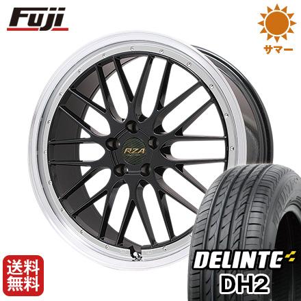 タイヤはフジ 送料無料 BIGWAY ビッグウエイ LEYCROSS レゼルヴァ 7J 7.00-17 DELINTE デリンテ DH2(限定) 215/50R17 17インチ サマータイヤ ホイール4本セット