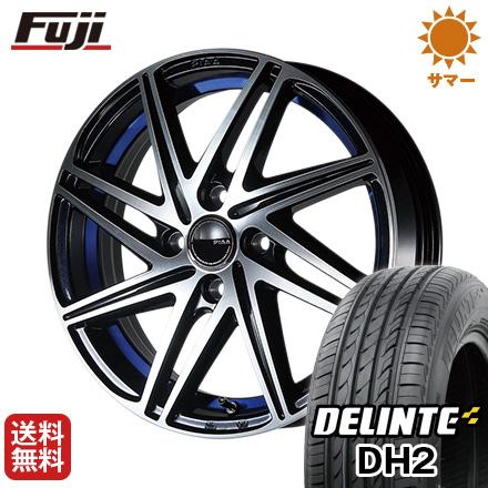 ユーロスタイル 185/60R15 ホイール4本セット 15インチ 5.50-15 5.5J サマータイヤ DH2(限定) 送料無料 デリンテ DELINTE PIAA タイヤはフジ S82