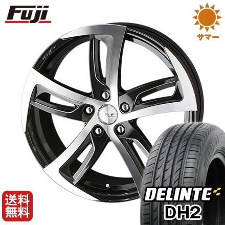 タイヤはフジ 送料無料 KYOHO 共豊 シュタイナーフォースド SF-C 7J 7.00-17 DELINTE デリンテ DH2(限定) 215/60R17 17インチ サマータイヤ ホイール4本セット