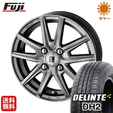 タイヤはフジ 送料無料 KYOHO 共豊 キョウホウ ザインSS 4.5J 4.50-14 DELINTE デリンテ DH2(限定) 155/65R14 14インチ サマータイヤ ホイール4本セット
