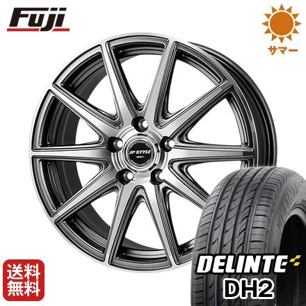 タイヤはフジ 送料無料 MONZA モンツァ JPスタイルベーカー 6J 6.00-15 DELINTE デリンテ DH2(限定) 205/65R15 15インチ サマータイヤ ホイール4本セット