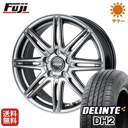 タイヤはフジ 送料無料 MONZA モンツァ ZACK JP-818 7J 7.00-17 DELINTE デリンテ DH2(限定) 215/50R17 17インチ サマータイヤ ホイール4本セット