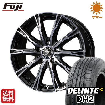 タイヤはフジ 送料無料 TOPY トピー ディルーチェ DX10 6.5J 6.50-16 DELINTE デリンテ DH2(限定) 205/65R16 16インチ サマータイヤ ホイール4本セット