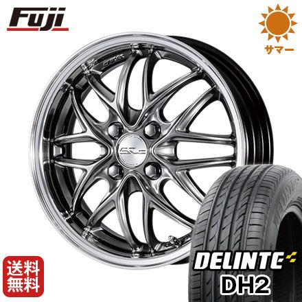 DH2(限定) ワーク 送料無料 4.50-15 クヴェルソロ 4.5J タイヤはフジ デリンテ 165/50R15 15インチ DELINTE サマータイヤ ホイール4本セット シュヴァート WORK