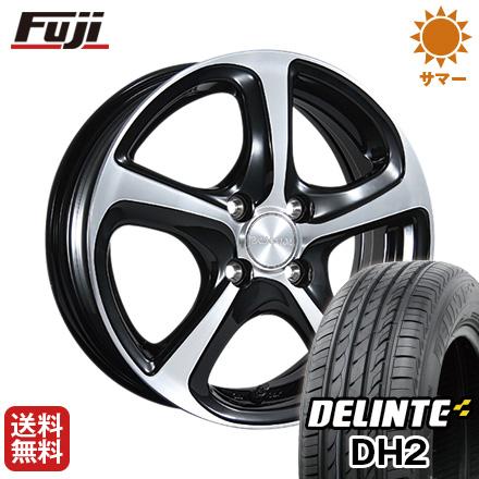 タイヤはフジ 送料無料 BRIDGESTONE ブリヂストン バルミナ Z5 5.5J 5.50-15 DELINTE デリンテ DH2(限定) 185/60R15 15インチ サマータイヤ ホイール4本セット