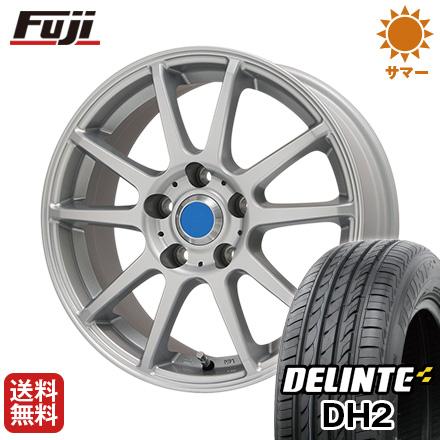 タイヤはフジ 送料無料 BRANDLE ブランドル 302 6.5J 6.50-16 DELINTE デリンテ DH2(限定) 215/60R16 16インチ サマータイヤ ホイール4本セット