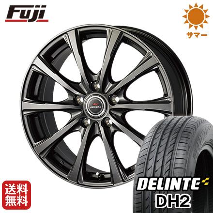 タイヤはフジ DELINTE 送料無料 DUNLOP エアノヴァ SB10 215/65R16 6.5J 6.50-16 DUNLOP DELINTE デリンテ DH2(限定) 215/65R16 16インチ サマータイヤ ホイール4本セット, ナカタネチョウ:4f341a51 --- sunward.msk.ru