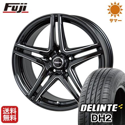 タイヤはフジ 送料無料 HOT STUFF ホットスタッフ ラフィット LW-04 6.5J 6.50-16 DELINTE デリンテ DH2(限定) 205/65R16 16インチ サマータイヤ ホイール4本セット