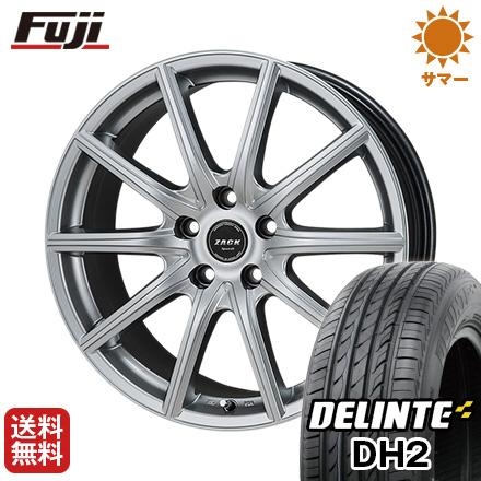 タイヤはフジ 送料無料 MONZA モンツァ ZACK シュポルト01 6J 6.00-15 DELINTE デリンテ DH2(限定) 205/65R15 15インチ サマータイヤ ホイール4本セット