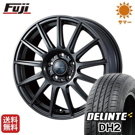 タイヤはフジ 送料無料 WEDS ウェッズ ヴェルバ イゴール 7.5J 7.50-18 DELINTE デリンテ DH2(限定) 225/55R18 18インチ サマータイヤ ホイール4本セット