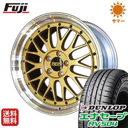 タイヤはフジ 送料無料 BBS JAPAN BBS LM 8.5J 8.50-19 DUNLOP エナセーブ RV504 245/40R19 19インチ サマータイヤ ホイール4本セット