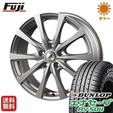 タイヤはフジ 送料無料 INTER MILANO インターミラノ AZ-SPORTS EX-10 6.5J 6.50-16 DUNLOP エナセーブ RV504 205/65R16 16インチ サマータイヤ ホイール4本セット