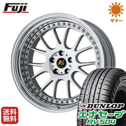 タイヤはフジ 送料無料 WORK ワーク VS VS-TX 8J 8.00-19 DUNLOP エナセーブ RV504 245/40R19 19インチ サマータイヤ ホイール4本セット
