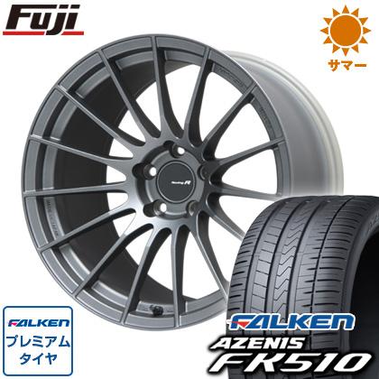 【送料無料】  ENKEI エンケイ RS-05RR 8.5J 8.50-20 FALKEN アゼニス FK510 235/35R20 20インチ サマータイヤ ホイール4本セット