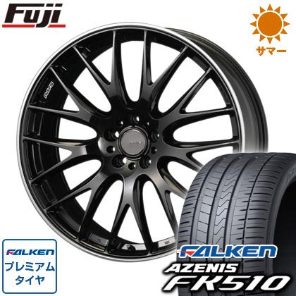 タイヤはフジ 送料無料 RAYS レイズ ホムラ 2X9 8J 8.00-19 FALKEN アゼニス FK510 225/35R19 19インチ サマータイヤ ホイール4本セット