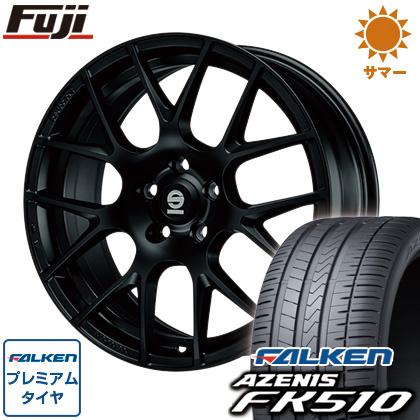 タイヤはフジ 送料無料 OZ SPARCO プロコルサ 8J 8.00-18 FALKEN アゼニス FK510 225/40R18 18インチ サマータイヤ ホイール4本セット