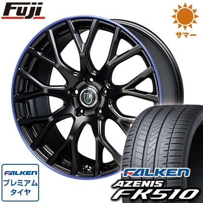 タイヤはフジ 送料無料 BLEST ブレスト バーンシュポルト タイプ902 7.5J 7.50-19 FALKEN アゼニス FK510 215/35R19 19インチ サマータイヤ ホイール4本セット