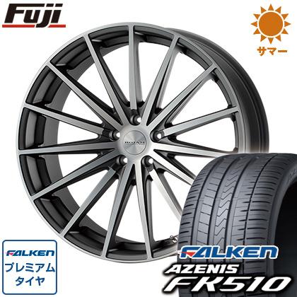 最高品質の タイヤはフジ FALKEN 送料無料 FK510 ROJAM ロジャム スプレッド 8.5J 8.50-20 245/35R20 FALKEN アゼニス FK510 245/35R20 20インチ サマータイヤ ホイール4本セット, リカーショップ ヒラオカ:785f5159 --- lempaco.com