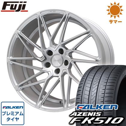 タイヤはフジ 送料無料 ACE ドリブン 8.5J 8.50-19 FALKEN アゼニス FK510 235/35R19 19インチ サマータイヤ ホイール4本セット
