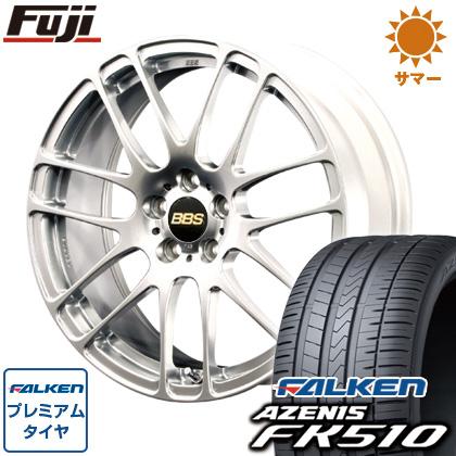 タイヤはフジ 送料無料 BBS JAPAN BBS RE-L2 7J 7.00-17 FALKEN アゼニス FK510 215/45R17 17インチ サマータイヤ ホイール4本セット