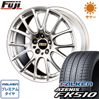 タイヤはフジ 送料無料 BBS JAPAN BBS RE-V 8.5J 8.50-19 FALKEN アゼニス FK510 235/35R19 19インチ サマータイヤ ホイール4本セット