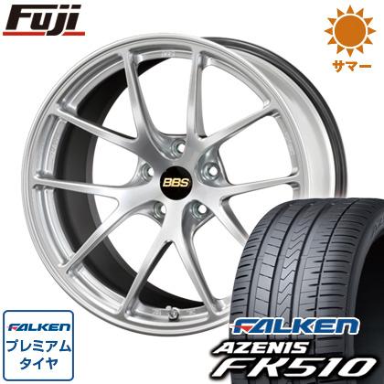 タイヤはフジ 送料無料 BBS JAPAN BBS RI-A 8J 8.00-18 FALKEN アゼニス FK510 235/40R18 18インチ サマータイヤ ホイール4本セット