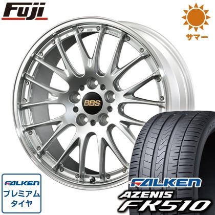 タイヤはフジ 送料無料 BBS JAPAN BBS RS-N 8.5J 8.50-20 FALKEN アゼニス FK510 245/40R20 20インチ サマータイヤ ホイール4本セット
