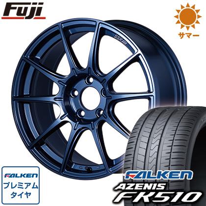 タイヤはフジ 送料無料 SSR GTX01 LIMITED EDITION 8.5J 8.50-18 FALKEN アゼニス FK510 235/45R18 18インチ サマータイヤ ホイール4本セット