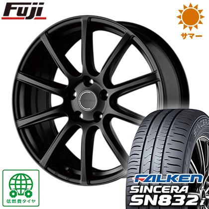 タイヤはフジ 送料無料 BRIDGESTONE ブリヂストン エコフォルム CRS/131 6.5J 6.50-16 FALKEN シンセラ SN832i 205/55R16 16インチ サマータイヤ ホイール4本セット