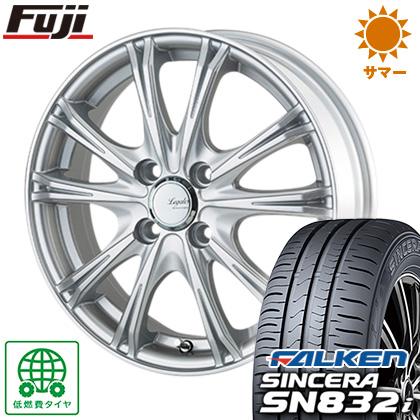 タイヤはフジ 送料無料 5ZIGEN ゴジゲン リーガレスα EX 5.5J 5.50-14 FALKEN シンセラ SN832i 185/65R14 14インチ サマータイヤ ホイール4本セット