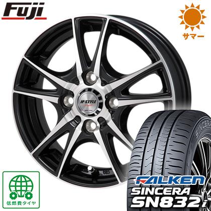 タイヤはフジ 送料無料 MONZA モンツァ JPスタイルヴォーゲル 6J 6.00-16 FALKEN シンセラ SN832i 195/55R16 16インチ サマータイヤ ホイール4本セット