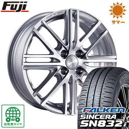 タイヤはフジ 送料無料 BRIDGESTONE ブリヂストン エコフォルム CRS/161 5.5J 5.50-14 FALKEN シンセラ SN832i 175/70R14 14インチ サマータイヤ ホイール4本セット
