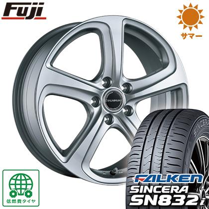 タイヤはフジ 送料無料 BRIDGESTONE ブリヂストン バルミナ ZR5 6.5J 6.50-16 FALKEN シンセラ SN832i 195/55R16 16インチ サマータイヤ ホイール4本セット