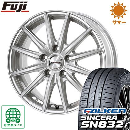 タイヤはフジ 送料無料 DUNLOP ダンロップ バロッソ WS12 6.5J 6.50-16 FALKEN シンセラ SN832i 195/55R16 16インチ サマータイヤ ホイール4本セット