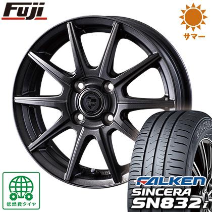 タイヤはフジ 送料無料 INTER MILANO インターミラノ クレール GS10J 5.5J 5.50-15 FALKEN シンセラ SN832i 175/65R15 15インチ サマータイヤ ホイール4本セット