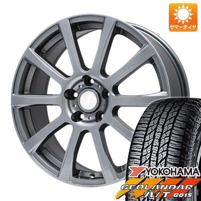タイヤはフジ 送料無料 BRANDLE ブランドル 565T 6.5J 6.50-16 YOKOHAMA ジオランダー A/T G015 RBL 215/70R16 16インチ サマータイヤ ホイール4本セット