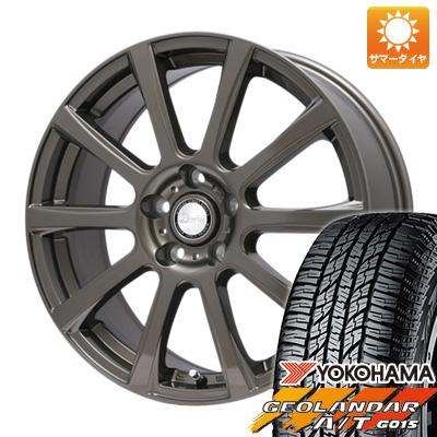タイヤはフジ 送料無料 BIGWAY ビッグウエイ B-WIN ISX(ブロンズ) 6.5J 6.50-16 YOKOHAMA ジオランダー A/T G015 RBL 215/70R16 16インチ サマータイヤ ホイール4本セット