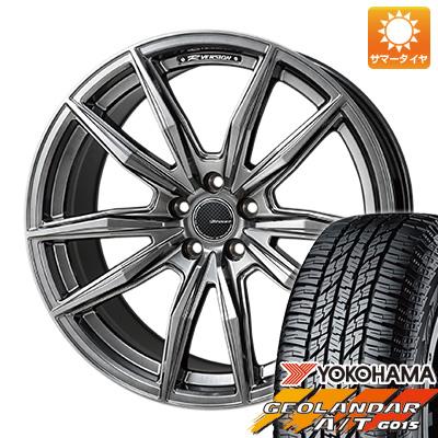 タイヤはフジ 送料無料 MONZA モンツァ Rバージョンブロッカー 4.5J 4.50-15 YOKOHAMA ジオランダー A/T G015 RBL(限定) 165/60R15 15インチ サマータイヤ ホイール4本セット