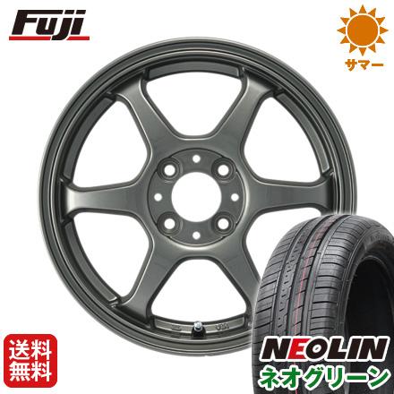 タイヤはフジ 送料無料 カジュアルセット タイプL 2. 5J 5.00-15 NEOLIN ネオリン ネオグリーン(限定) 165/55R15 15インチ サマータイヤ ホイール4本セット