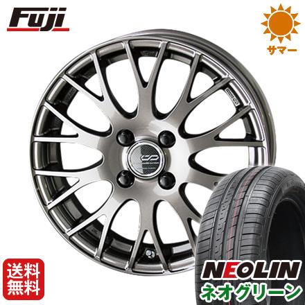 タイヤはフジ 送料無料 KYOHO 共豊 クリエイティブディレクション M2 5.5J 5.50-15 NEOLIN ネオリン ネオグリーン(限定) 185/65R15 15インチ サマータイヤ ホイール4本セット