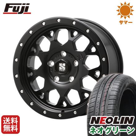 タイヤはフジ 送料無料 MLJ エクストリームJ XJ04 4.5J 4.50-15 NEOLIN ネオリン ネオグリーン(限定) 165/55R15 15インチ サマータイヤ ホイール4本セット