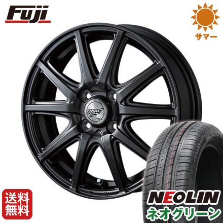 タイヤはフジ 送料無料 MID ファイナルスピード GR-ガンマ 5.5J 5.50-14 NEOLIN ネオリン ネオグリーン(限定) 175/65R14 14インチ サマータイヤ ホイール4本セット