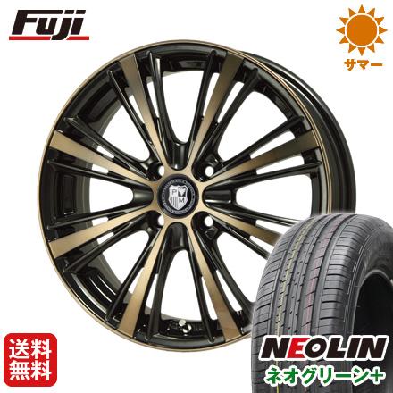 タイヤはフジ 送料無料 PREMIX プレミックス アマルフィ(ブロンズクリア)限定 6.5J 6.50-17 NEOLIN ネオリン ネオグリーン プラス(限定) 205/40R17 17インチ サマータイヤ ホイール4本セット