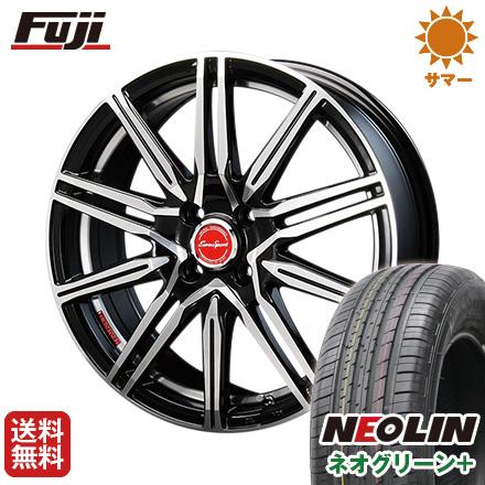 タイヤはフジ 送料無料 BLEST ブレスト ユーロスポーツ レグルス A1 6J 6.00-16 NEOLIN ネオリン ネオグリーン プラス(限定) 195/55R16 16インチ サマータイヤ ホイール4本セット