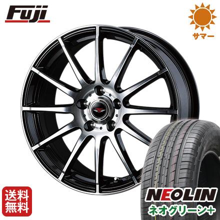タイヤはフジ 送料無料 WEDS ウェッズ テッドトリック 6.5J 6.50-16 NEOLIN ネオリン ネオグリーン プラス(限定) 215/60R16 16インチ サマータイヤ ホイール4本セット
