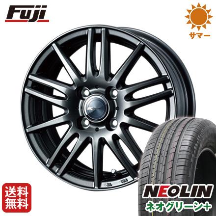 タイヤはフジ 送料無料 WEDS ウェッズ ザミック ティート 6J 6.00-16 NEOLIN ネオリン ネオグリーン プラス(限定) 195/55R16 16インチ サマータイヤ ホイール4本セット