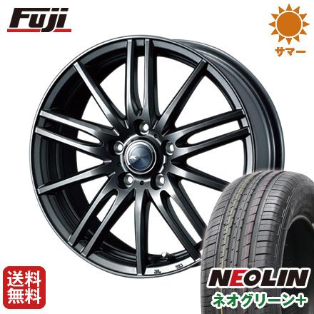 タイヤはフジ 送料無料 WEDS ウェッズ ザミック ティート 6J 6.00-15 NEOLIN ネオリン ネオグリーン プラス(限定) 195/65R15 15インチ サマータイヤ ホイール4本セット