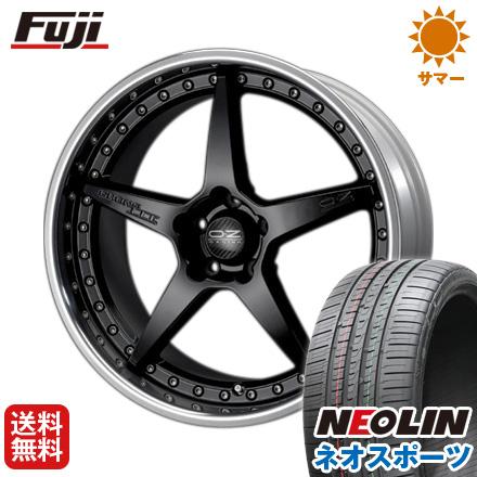 タイヤはフジ 送料無料 OZ クロノ3 8.5J 8.50-20 NEOLIN ネオリン ネオスポーツ(限定) 245/35R20 20インチ サマータイヤ ホイール4本セット
