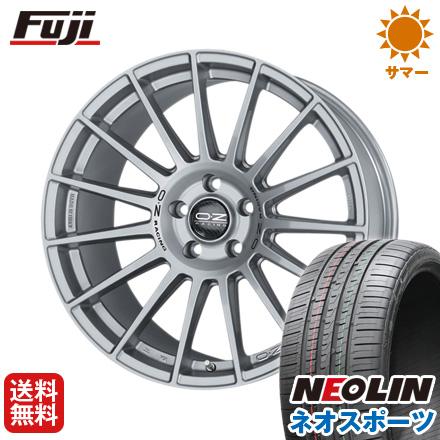 タイヤはフジ 送料無料 ベンツGLA(X156) OZ Sツーリズモダカール 8.5J 8.50-20 NEOLIN ネオリン ネオスポーツ(限定) 245/35R20 20インチ サマータイヤ ホイール4本セット 輸入車